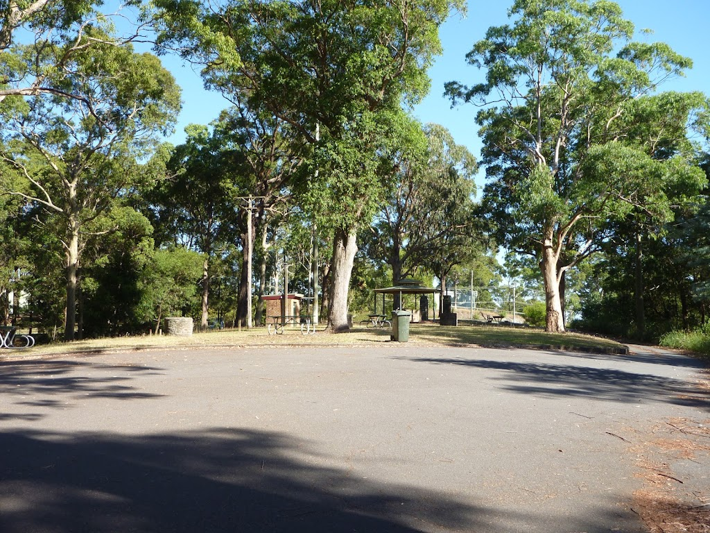 Lookout Road Car Park in Blackbutt Reserve