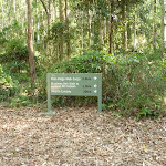Sign in Blackbutt Reserve (400084)