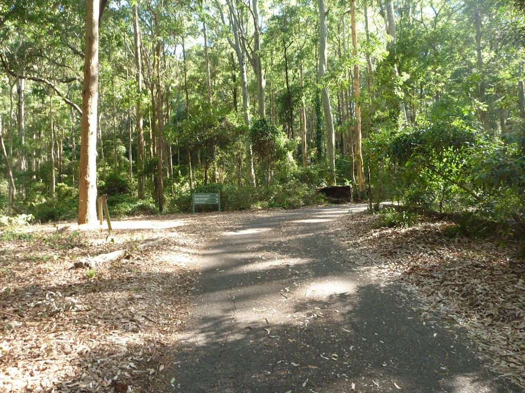 Intersection near Carnley Reserve in the Blackbutt Reserve