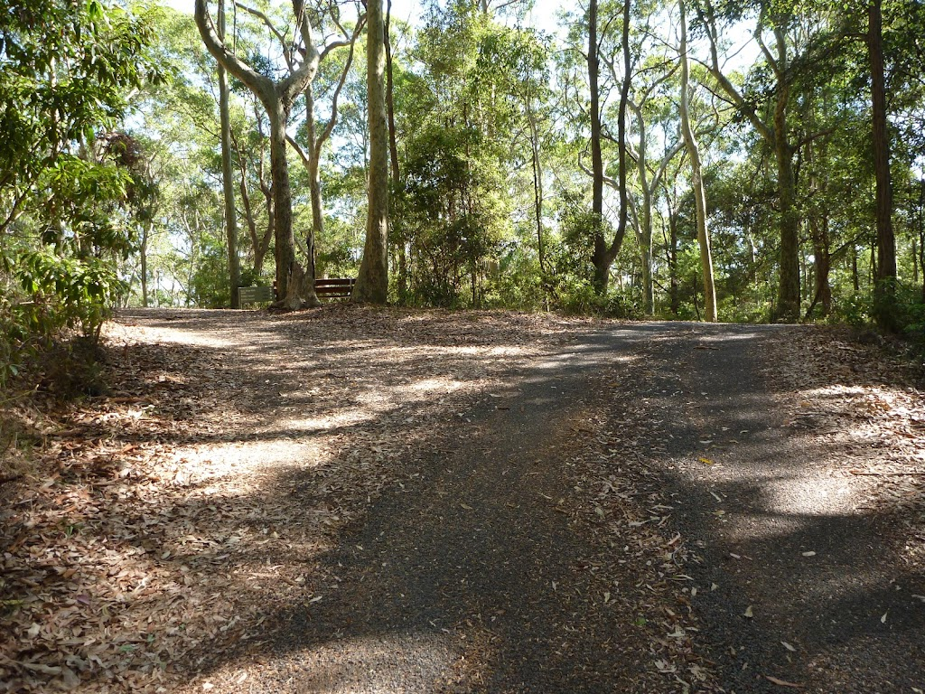 Intersection near Carnley Ave Reserve in Blackbutt Reserve