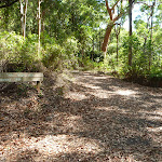 Trail and sign in Blackbutt Reserve