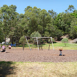 Childrens playground in Richley Reserve in Blackbutt Reserve