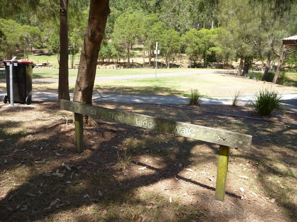 Sign at Richley Reserve in Blackbutt Reserve