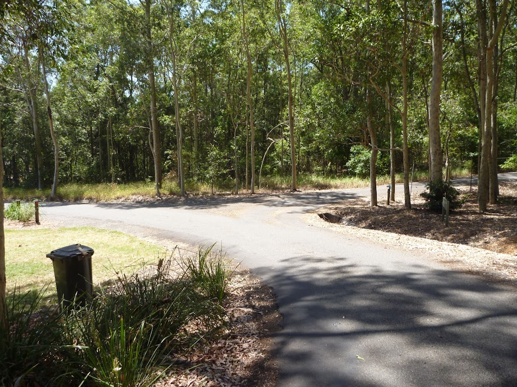 Intersection near the Richley Reserve Car Park in Blackbutt Reserve