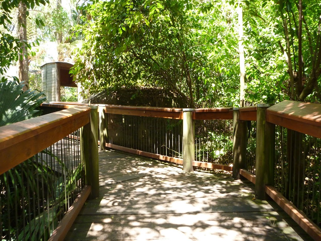 Boardwalk on the Wildlife Exhibits at Carnley Ave Reserve