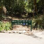 Symbolised sign at Carnley Avenue in Blackbutt Reserve (402160)