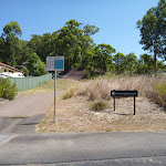 Green Point Drive entrance to Green Point Reserve (402166)