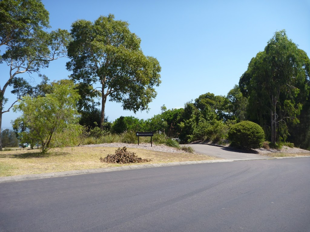 The Shores Way car Park entrance in Green Point Reserve