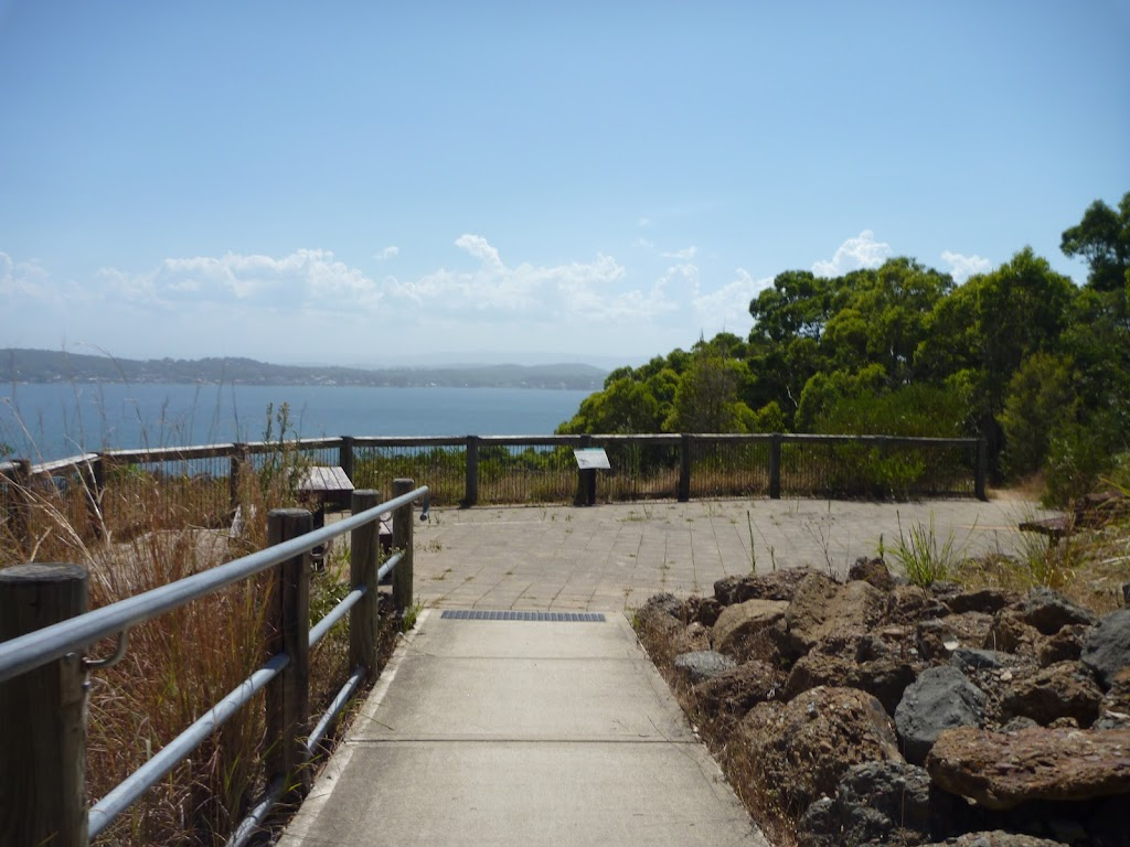 Upper lookout, Sea Eagle Picnic Area