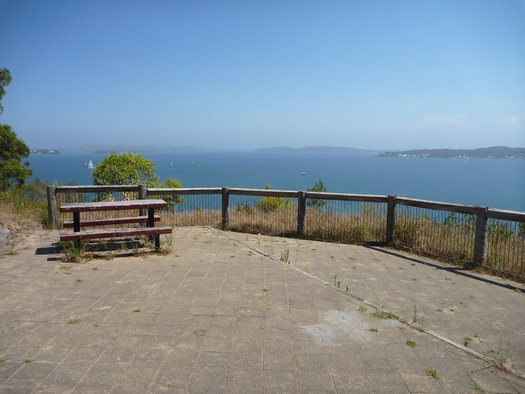 Middle lookout, Sea Eagle Picnic Area