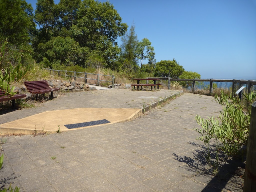The Upper Sea Eagle Lookout at Green Point Reserve