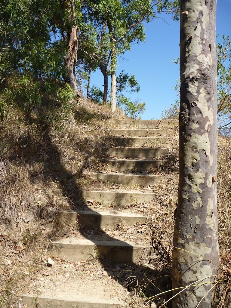 Steps up to the middle Sea Eagle Lookout