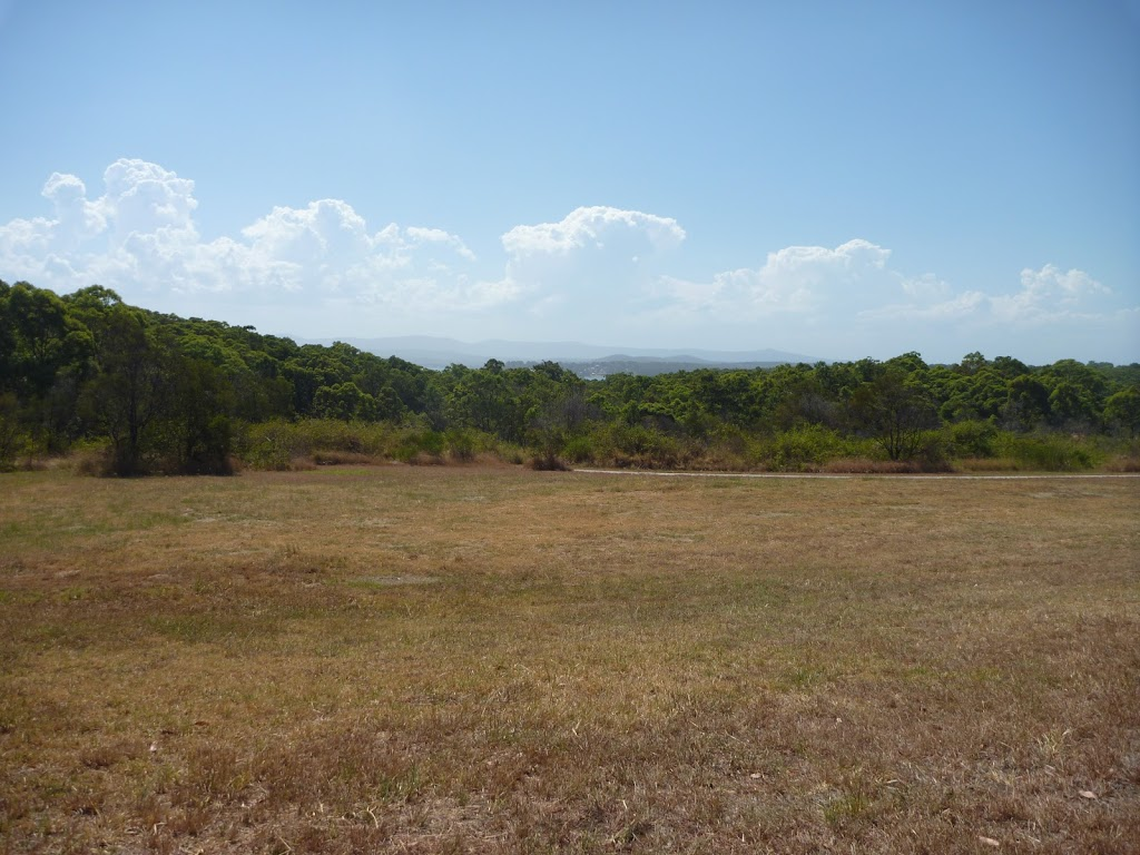 Open grasslands on an elevated area of Green Point Reserve