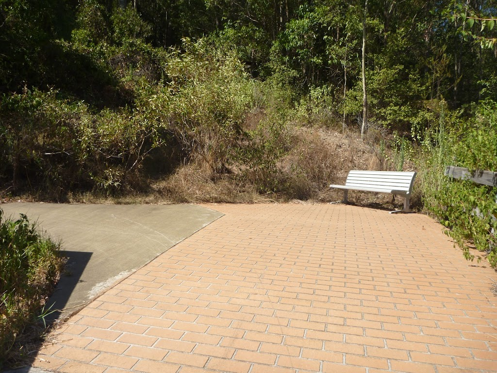 Metal seat on Zig Zag trail in Green Point Reserve (403243)