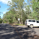 Car park on Megalong Rd