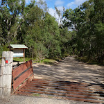 Six Foot Track trackhead on Megalong Road