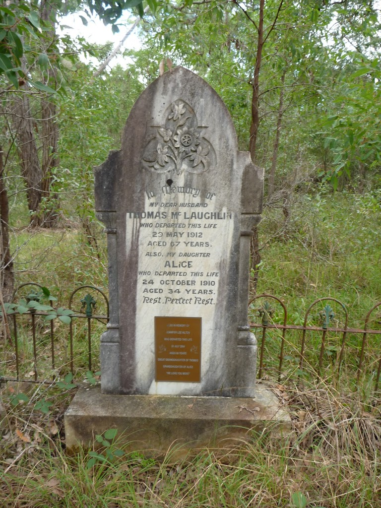 Thomas (Alice) McLaughlin's  Grave in Megalong Cemetery (412601)