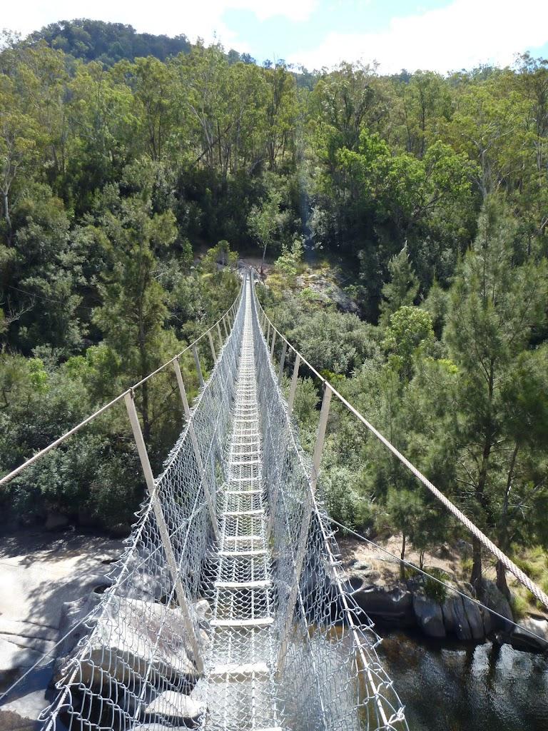 Crossing Bowtells Swing Bridge