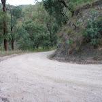 Sharp bend east of Kiangatha Yards (414854)