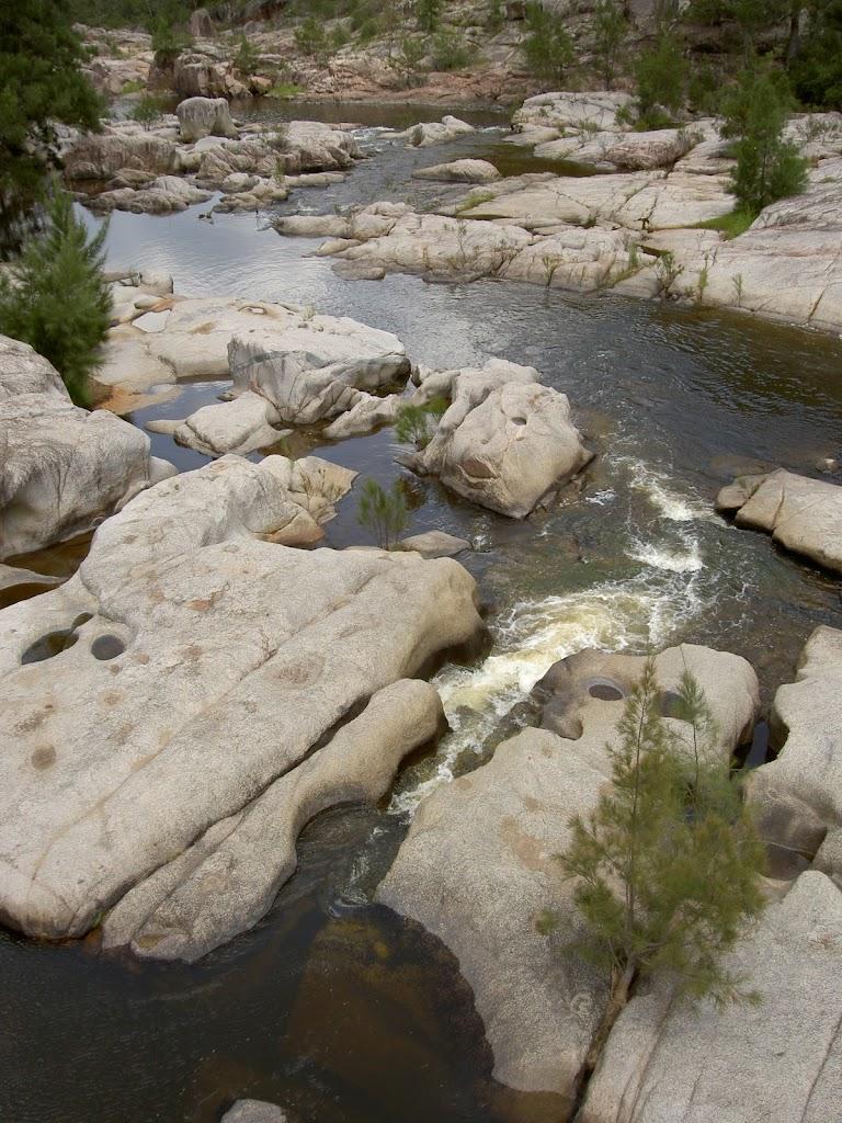 Cox's River beneath Bowtell's Bridge