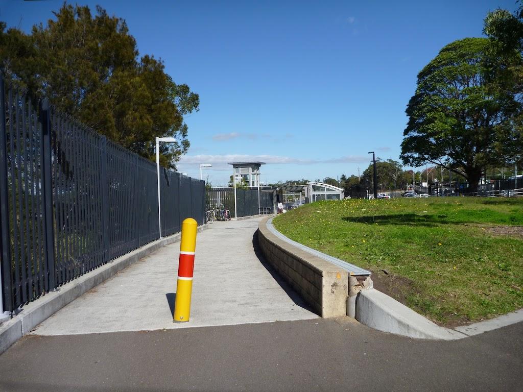 Path beside Berowra Station