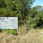 Berowra Track signpost