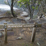 Gladstone Lookout sign