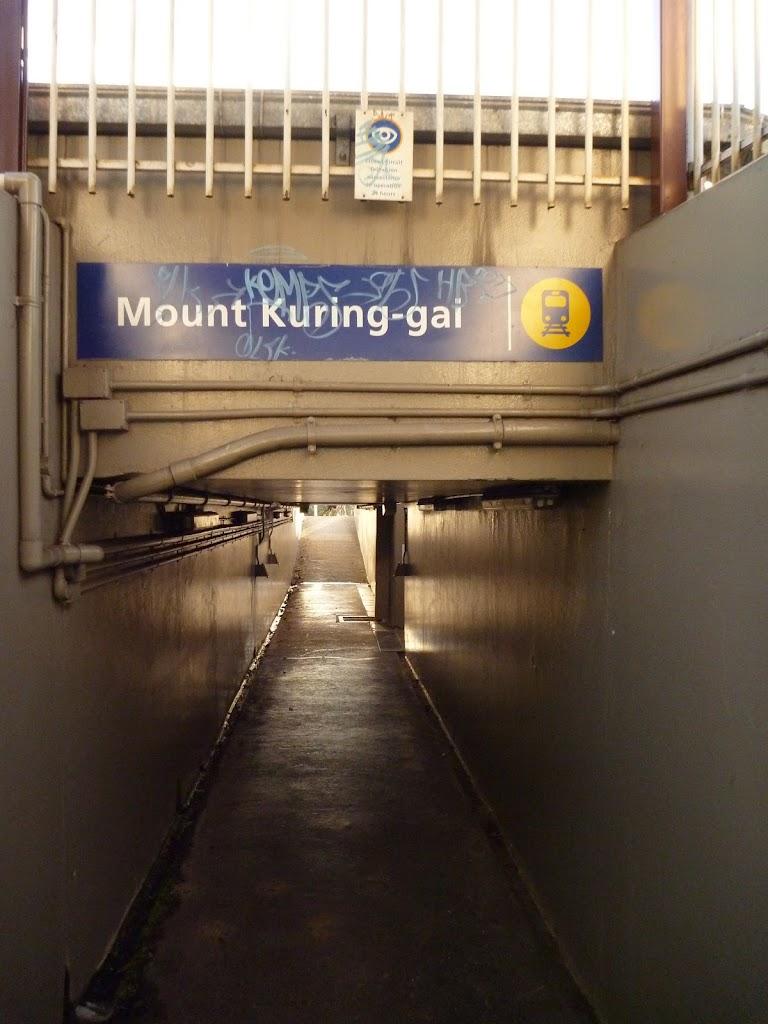 Mt Kuring-gai Station