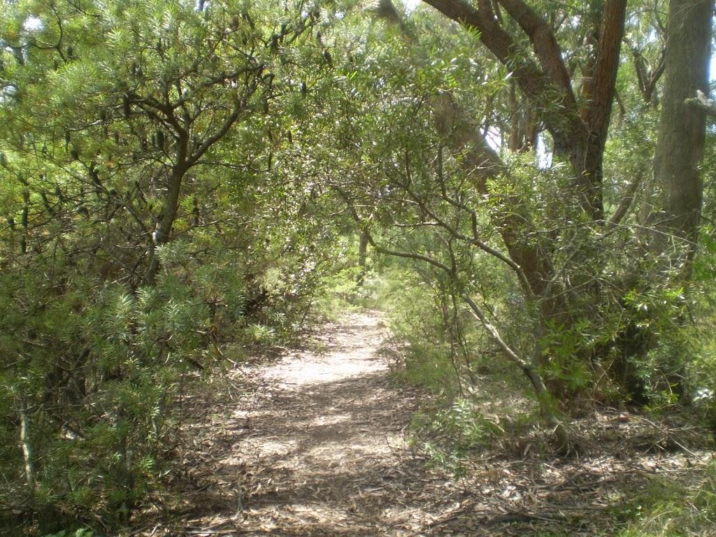 Track behind Leura Gof Course