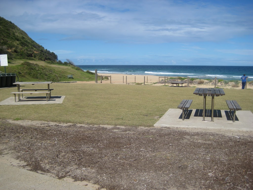 Garie Beach picnic setting