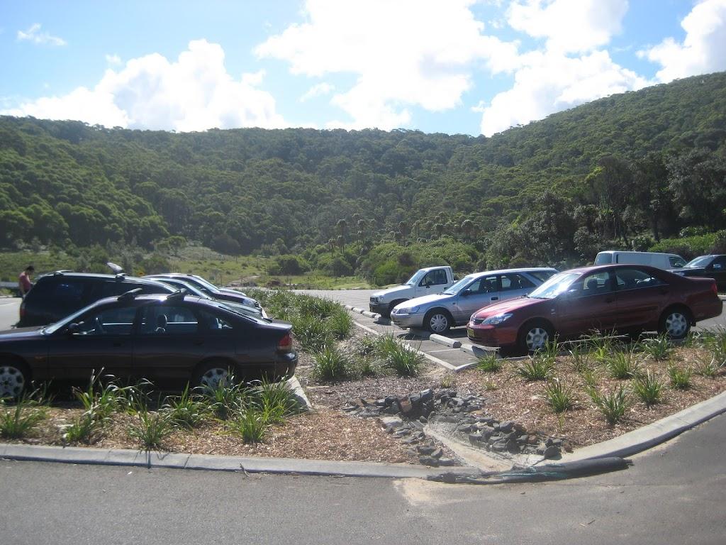 Garie Beach car park (44011)