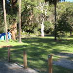 Central camping area