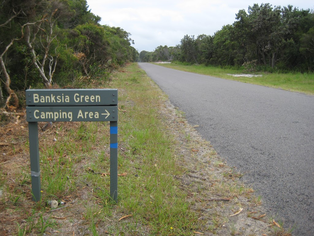 Entrance to Banksia Green campground