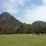 Great views and open area at Newnes camping area