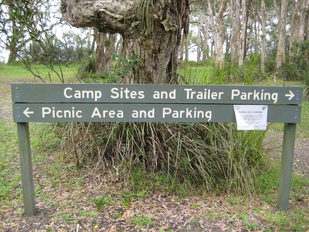 Day use and camping area