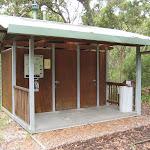 Toilets at Boomeri campsite