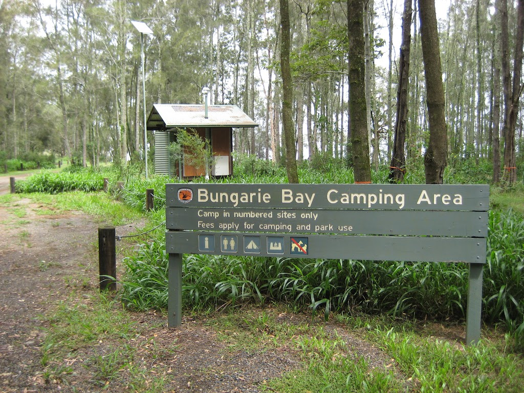 Welcome to Bungaree Bay camping area