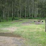 Camping area at Bungaree Bay