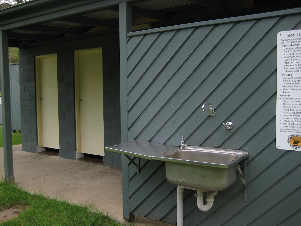 Washing basin outside toilets