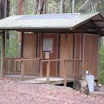 Toilet at Wallingat River camping ground