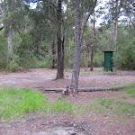 Water tank at Wallingat River camping ground