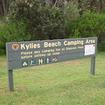 Welcome to Kylies Beach camping area