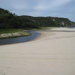 Beach near Kylies Beach camping ground