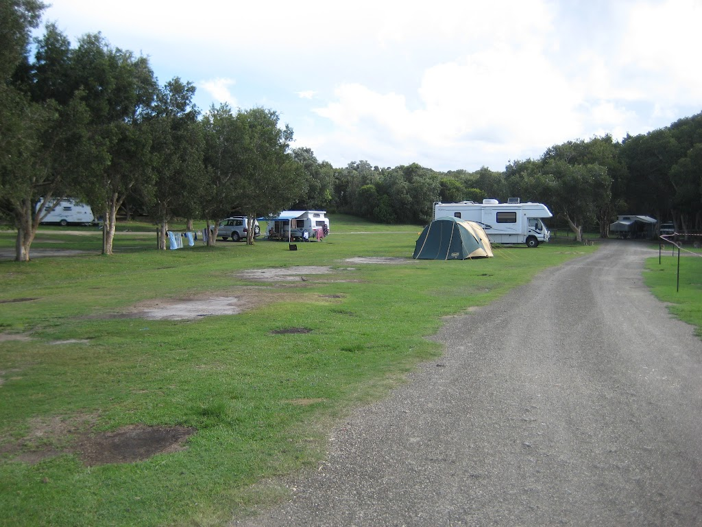 Main camping area