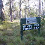 Welcome to Manning River camping area
