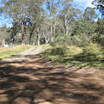 Road into Junction Pools camping ground