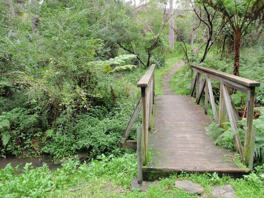 Bridge over small stream near Troon place