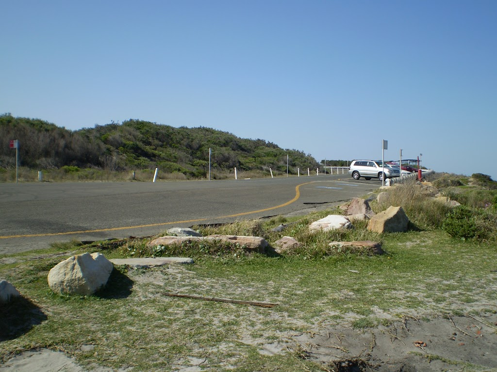 The end of Cape Solander Dr
