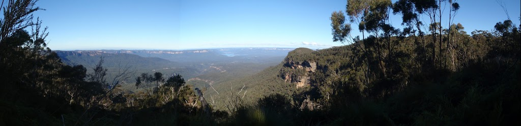 panorama of narrow neck looking at warragamba (48980)