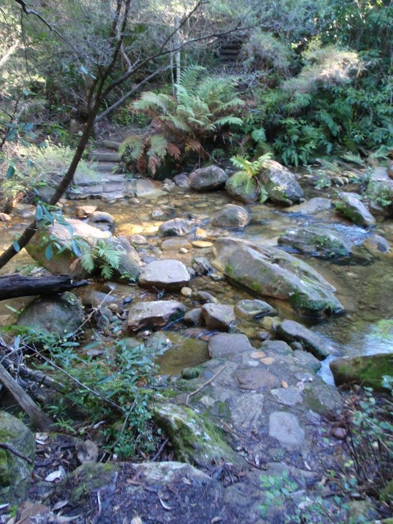 Creek crossing over Govetts Creek
